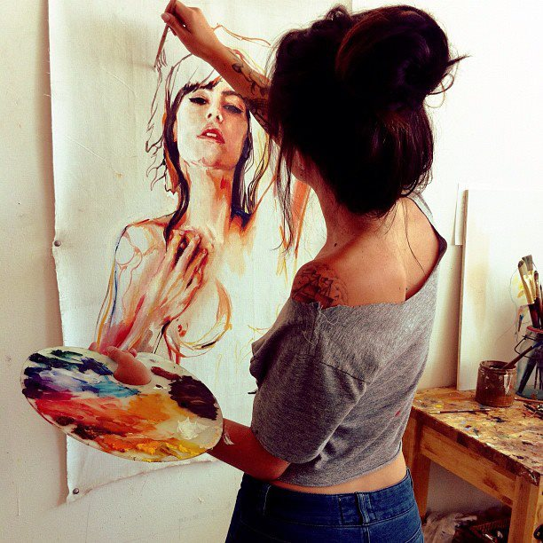 My favorite painter: Charmaine Olivia | honeythatsok - photo#27
