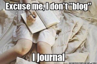 dontblogjournal