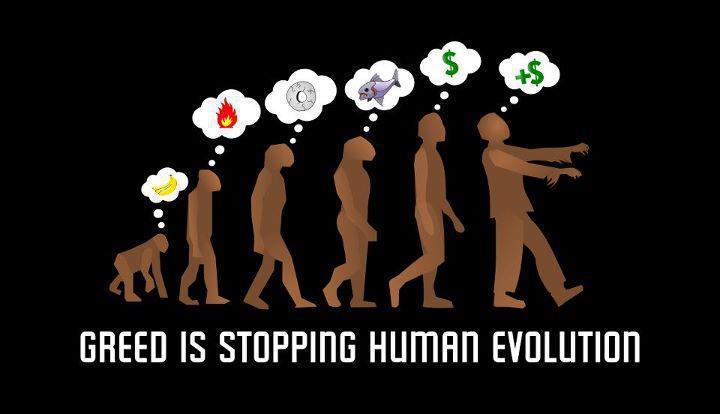 Greed-stops-evolution